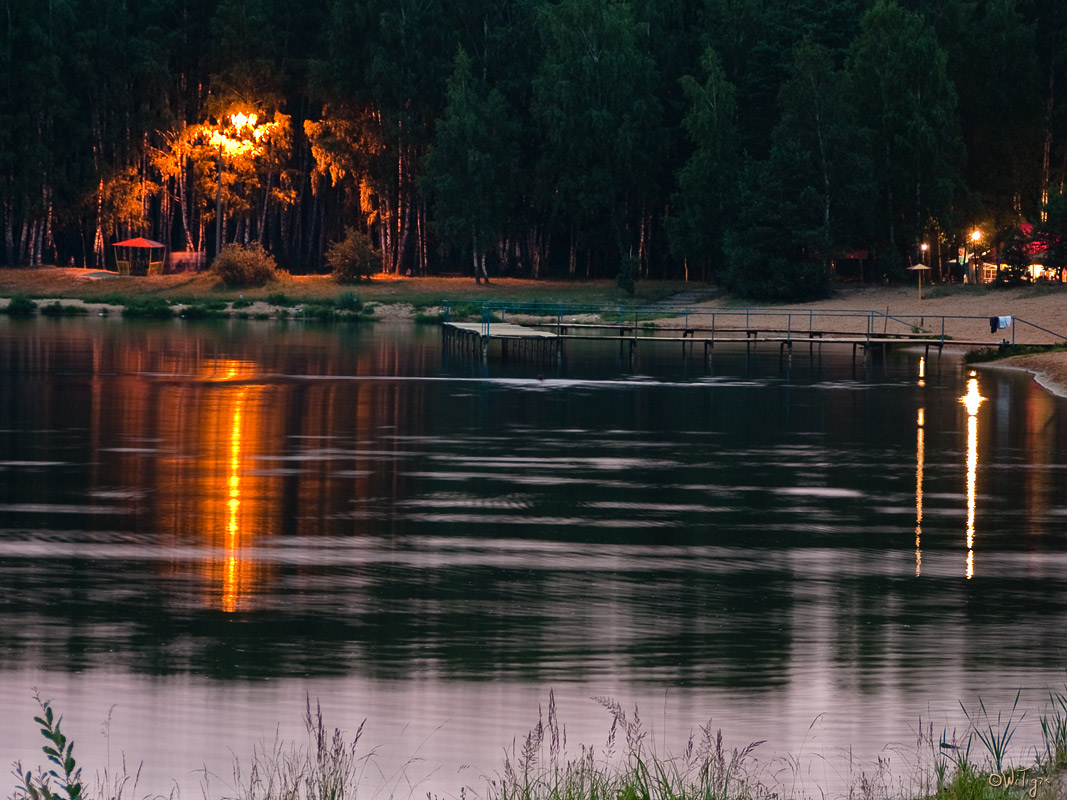 "photo ""Stiffened water"" tags: landscape, summer, water"