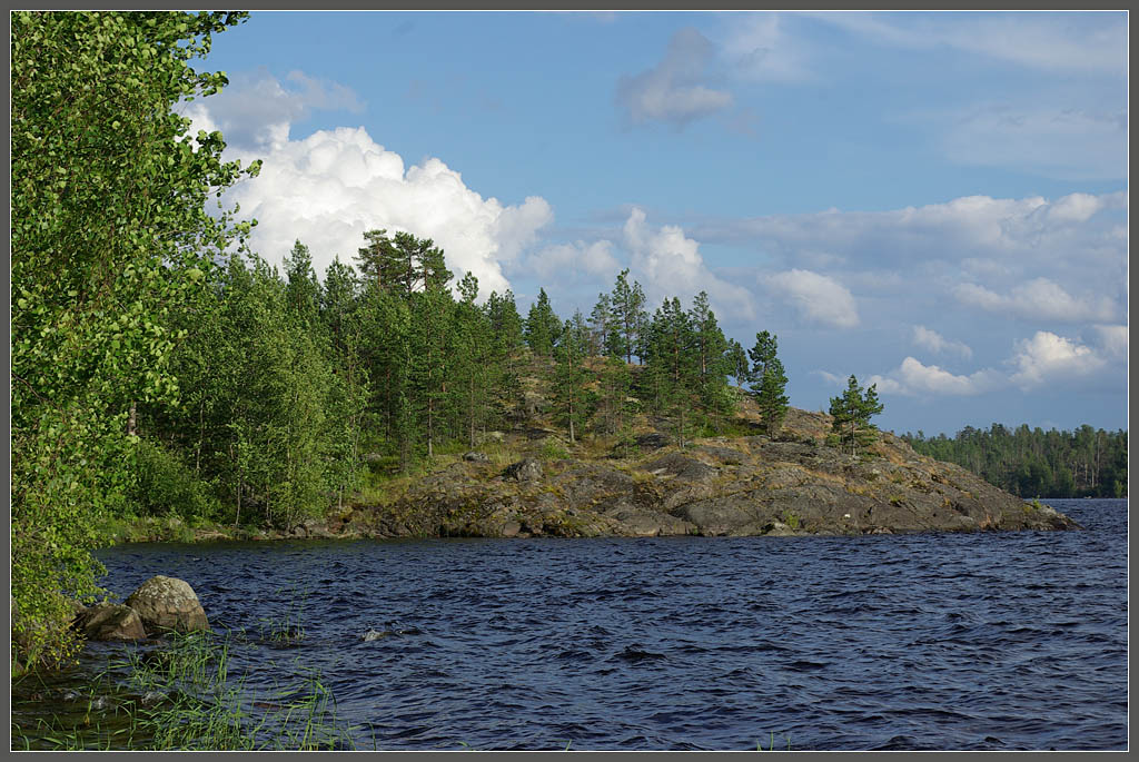 "photo ""North Ladoga. Black Island"" tags: landscape, travel, Europe, water"