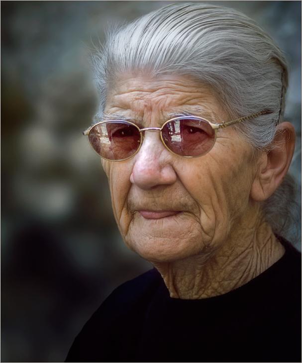 """фото """"Чья то бабушка..."""" метки: портрет, женщина"""