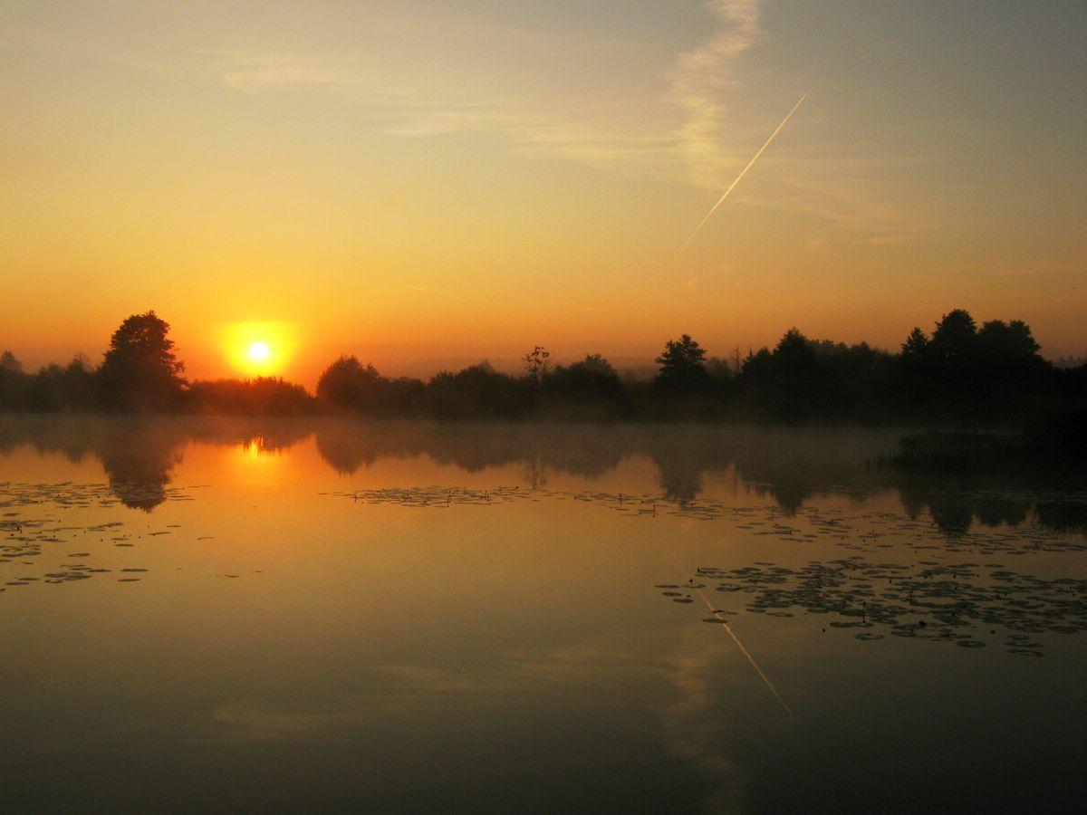 """фото """"А зори здесь тихие"""" метки: пейзаж, закат"""