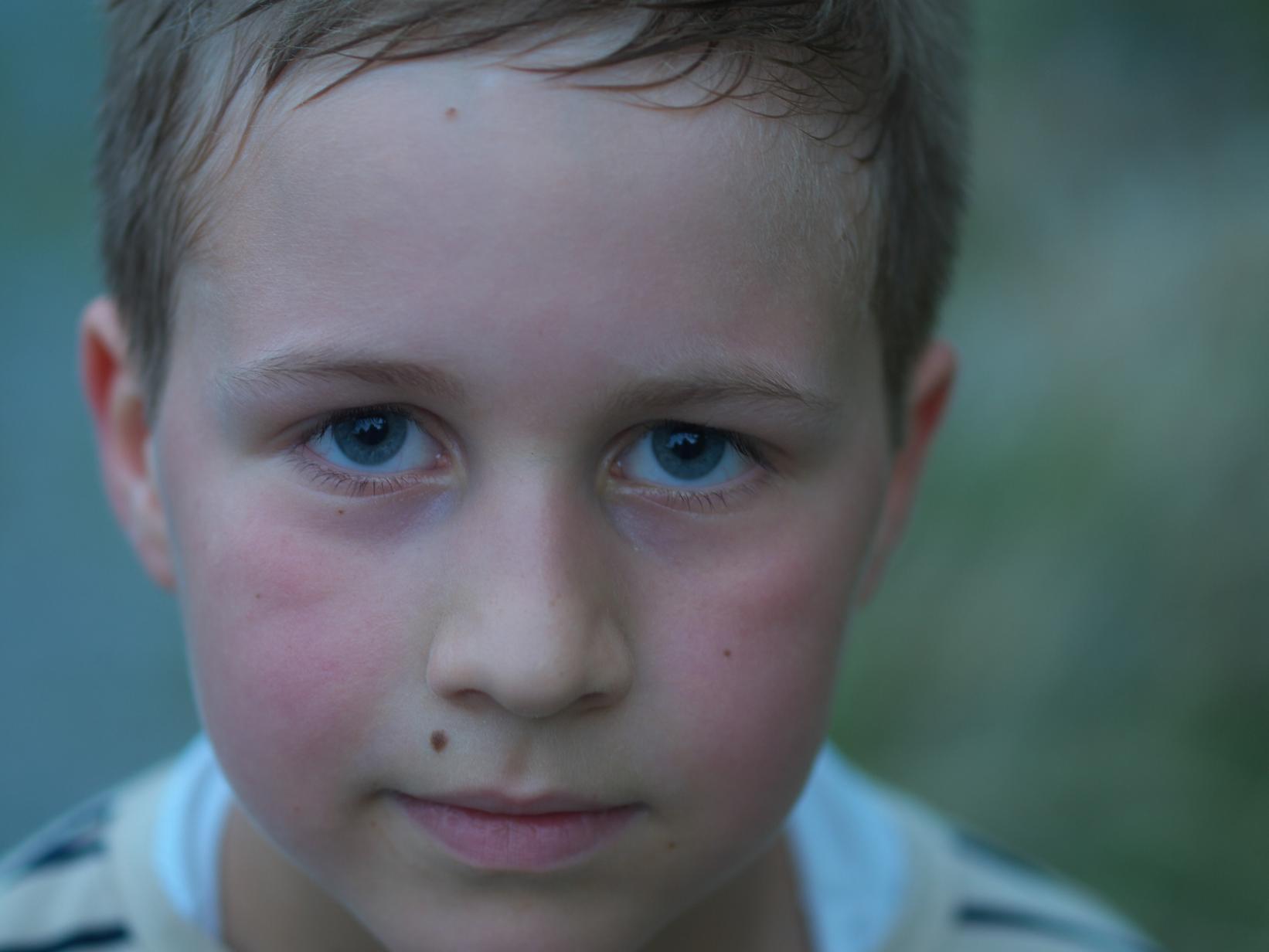 """photo """"evening portrait"""" tags: portrait, children"""
