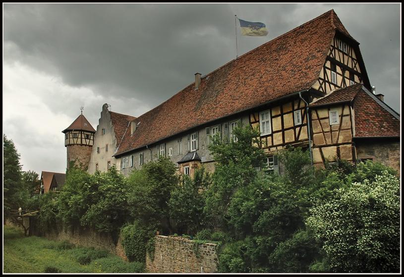 "photo ""Michelstadt"" tags: architecture, travel, landscape, Europe"