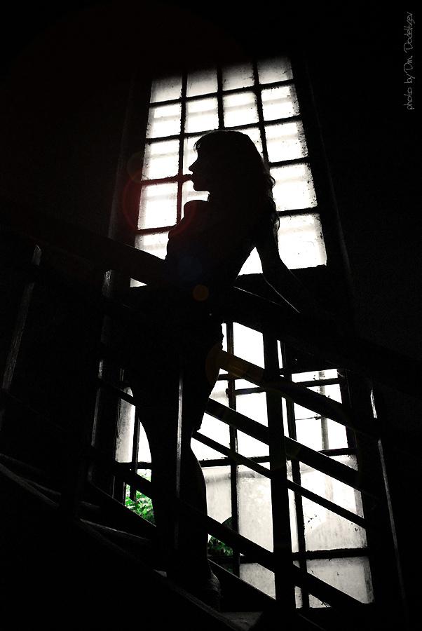 "фото ""Лестница"" метки: портрет, женщина"