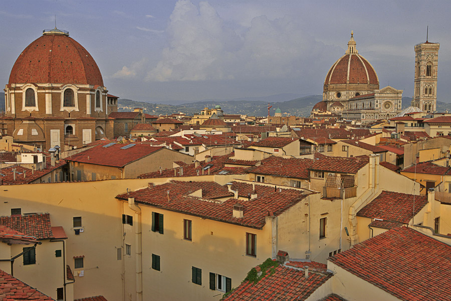 "photo ""Florentine roofs"" tags: architecture, travel, landscape, Europe"