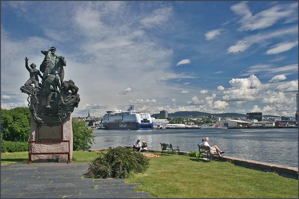 "photo ""Summer in Oslo"" tags: landscape, travel, Europe, summer"
