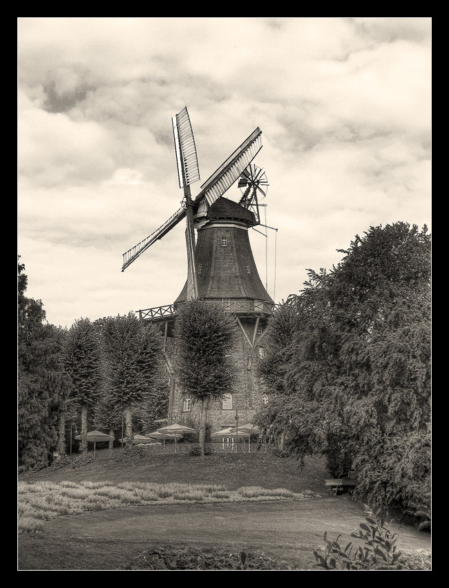 "photo ""The Mill"" tags: architecture, landscape, forest"