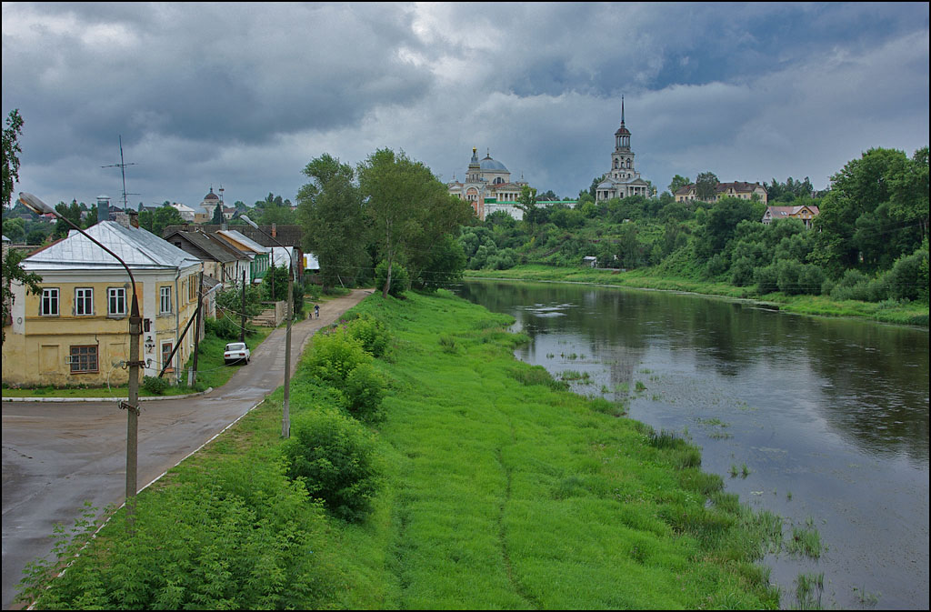 "photo ""It is a beautiful old Russian town of Torzhok"" tags: travel, Europe"