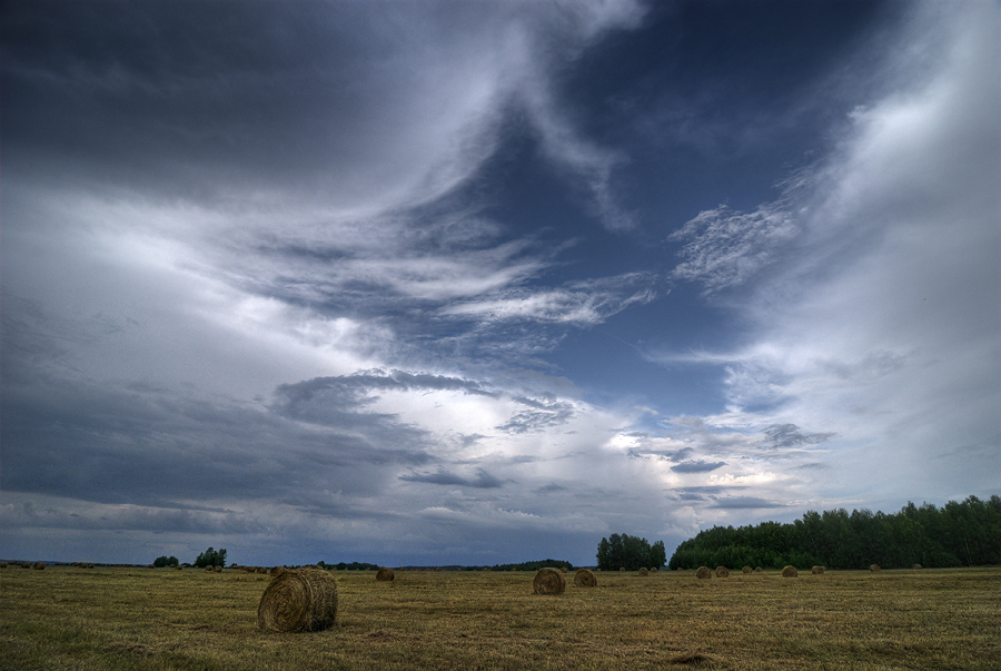 "photo ""Portal"" tags: landscape, clouds, summer"