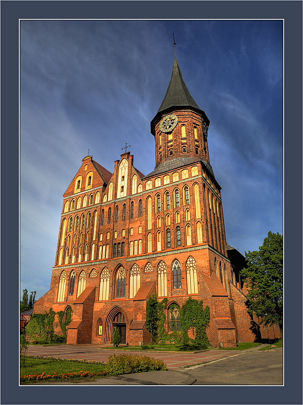 "photo ""The church in Kaliningrad"" tags: architecture, city, landscape,"