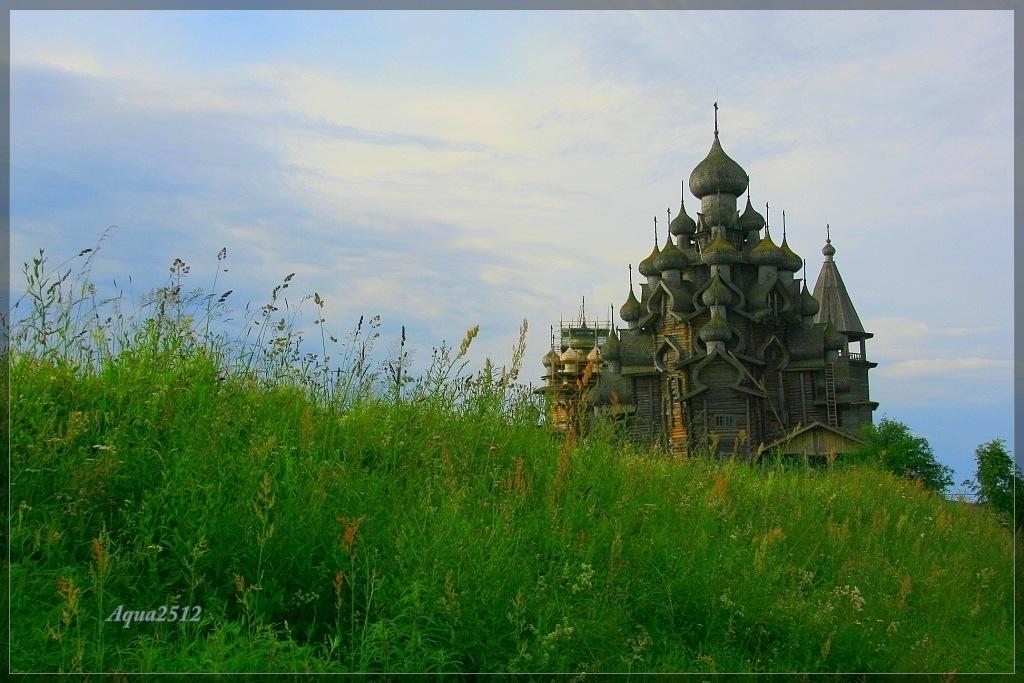 """фото """"Символ острова Кижи"""" метки: архитектура, пейзаж, лето"""
