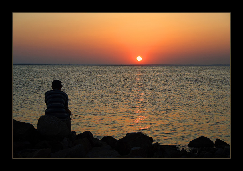 """фото """"***"""" метки: пейзаж, вода, закат"""