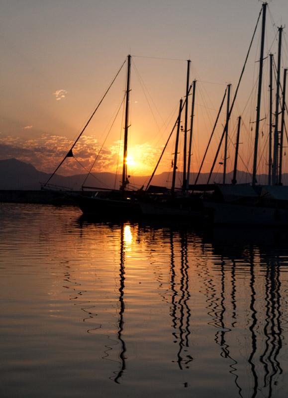 """фото """"Пробуждение"""" метки: пейзаж, вода, закат"""