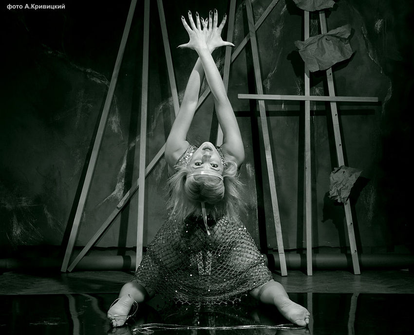 """фото """"Актриса Ксения. Анонс."""" метки: портрет, черно-белые,"""