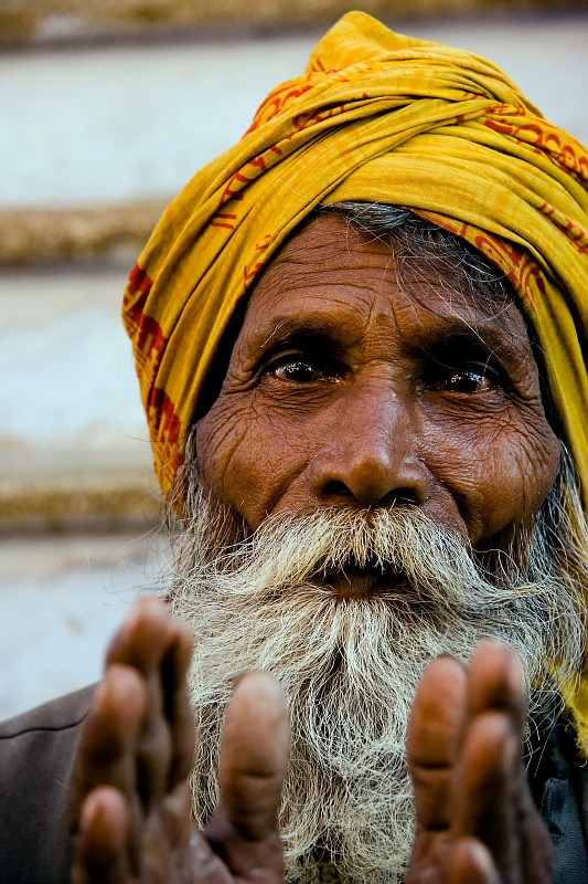 "photo ""Pushkar"" tags: travel, portrait, Asia, man"