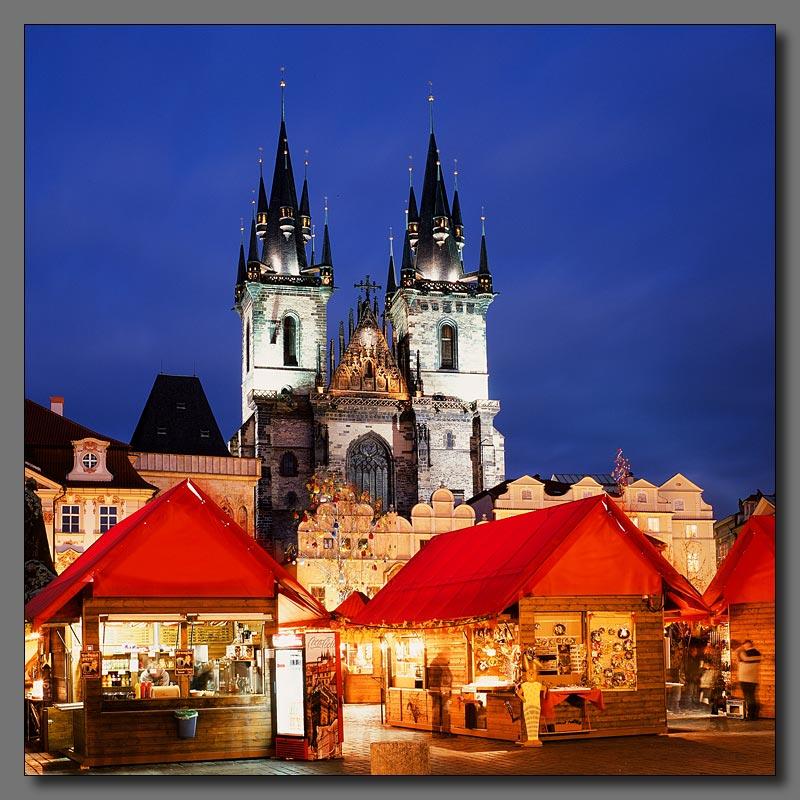"""фото """"Вечерняя Прага"""" метки: архитектура, пейзаж, ночь"""