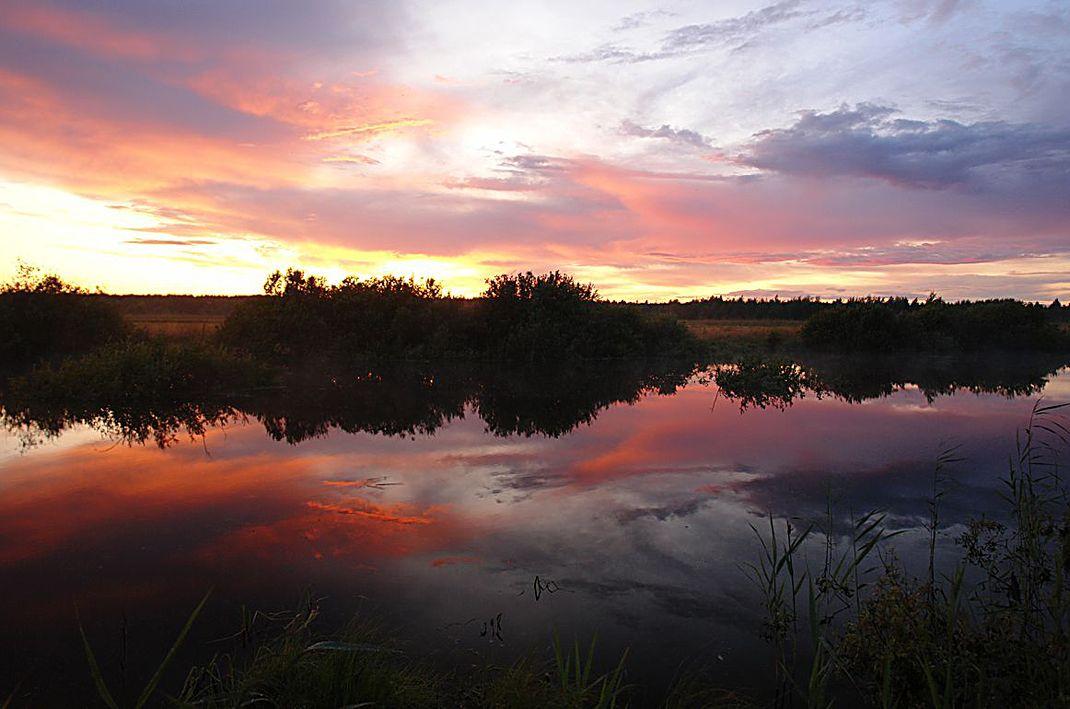 """фото """"""""Выткался на озере алый свет зари"""""""" метки: пейзаж,"""