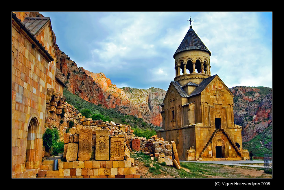 "photo ""Noravank..."" tags: architecture, travel, landscape,"