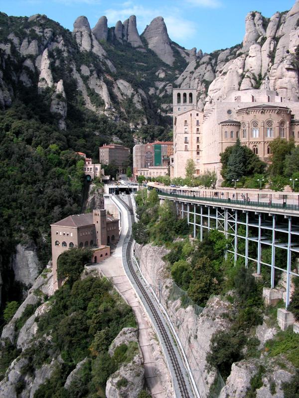 "фото ""Монтсеррат"" метки: пейзаж, путешествия, Европа, горы"