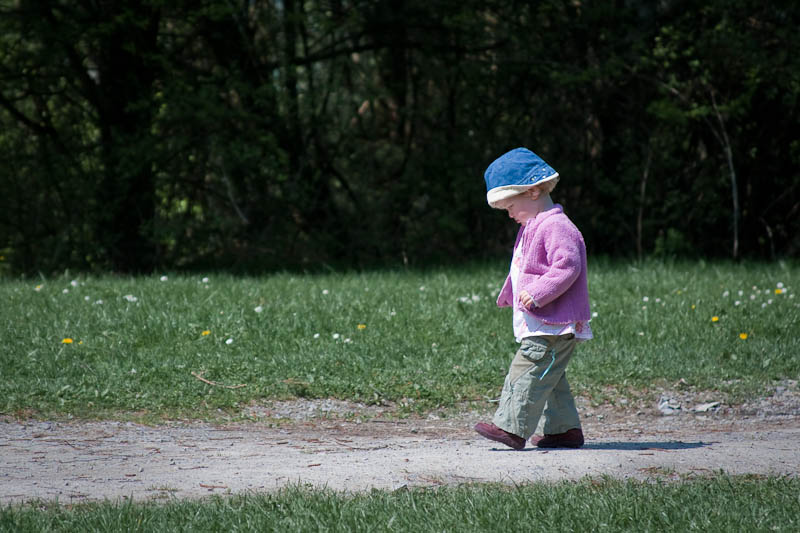 "photo ""Careful First Steps"" tags: portrait, children"