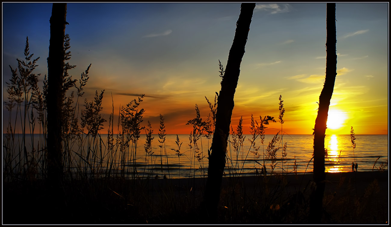 "photo ""The night is comming"" tags: landscape, sunset"