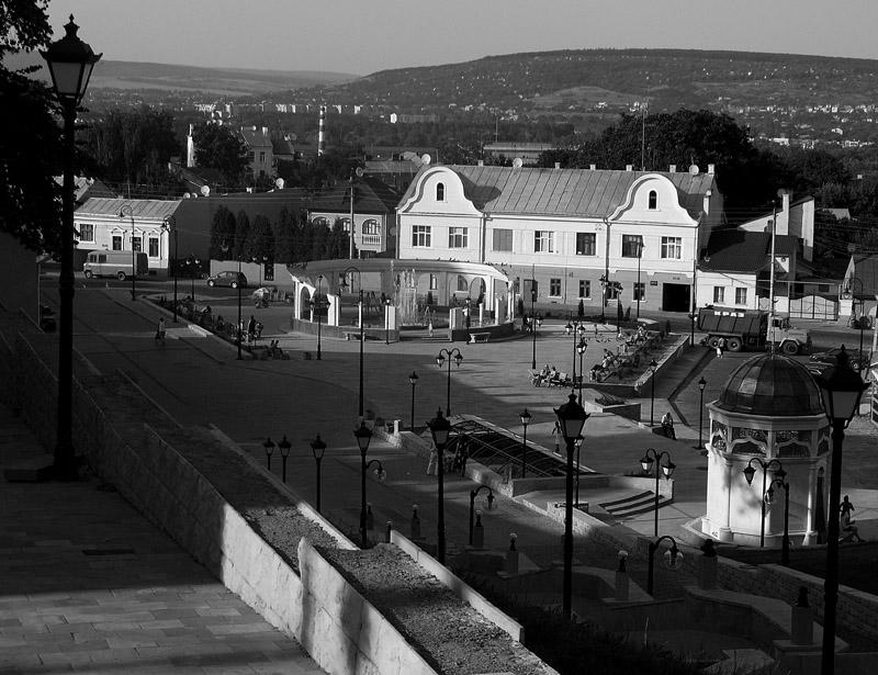 """фото """"Черновцы"""" метки: архитектура, черно-белые, пейзаж,"""