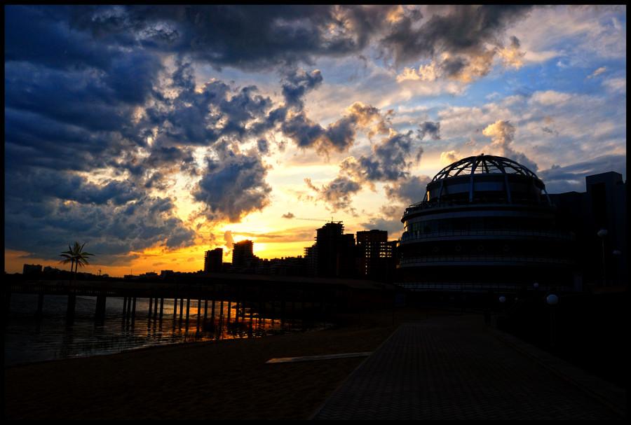 """фото """"Kazan"""" метки: пейзаж, закат"""