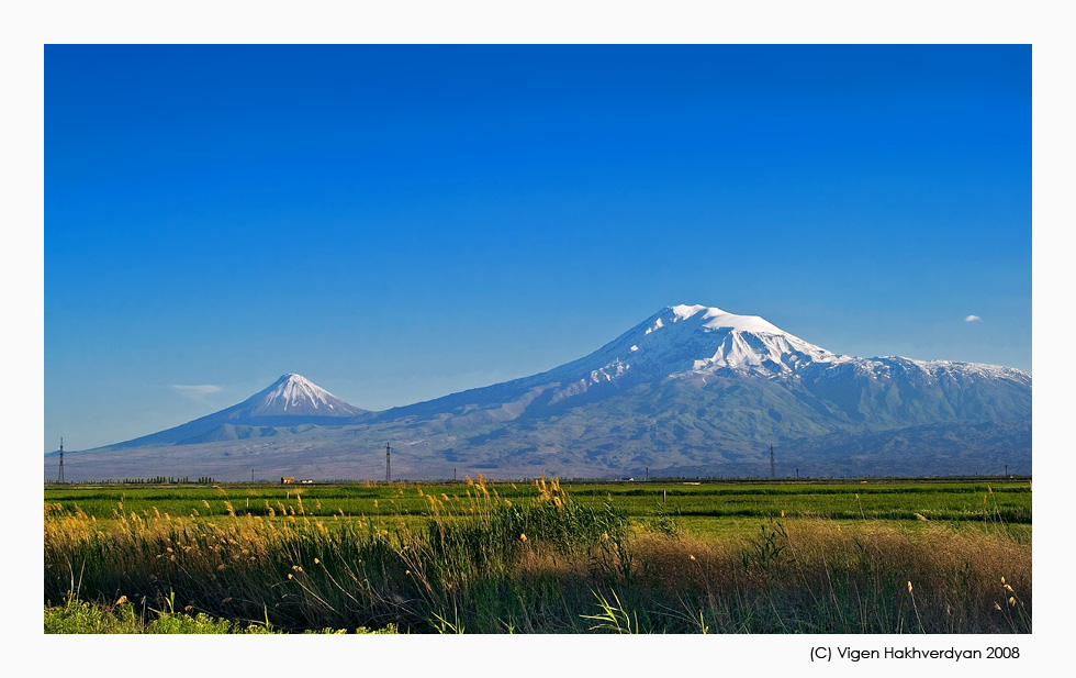 "photo ""Two steps to Ararat"" tags: landscape, travel, mountains"