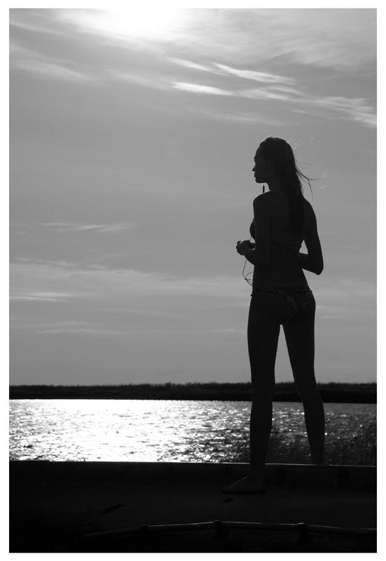 """фото """"Современная Ассоль"""" метки: черно-белые, портрет,"""