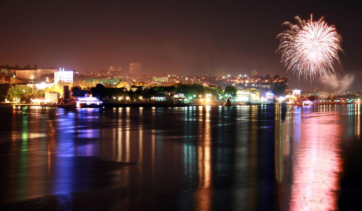 """фото """"ночной Севастополь"""" метки: пейзаж, ночь"""