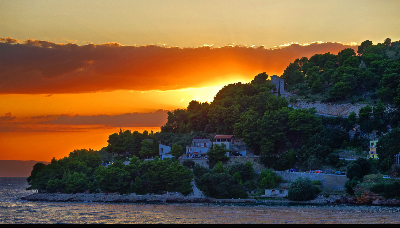 "photo ""***"" tags: travel, landscape, Europe, sunset"