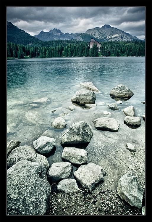 """photo """"Strbske Pleso"""" tags: landscape, mountains, water"""