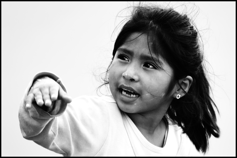 "photo ""Ana Milagros"" tags: portrait, children"