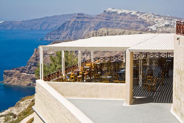 """фото """"Кафе на Санторини"""" метки: архитектура, пейзаж, лето"""