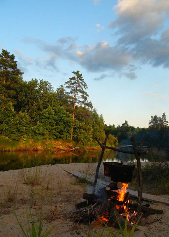 """фото """"Вечер"""" метки: пейзаж, закат"""