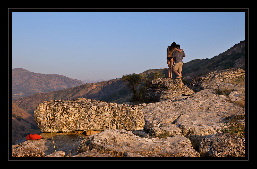 "photo ""After photosession..."" tags: landscape, genre, mountains"