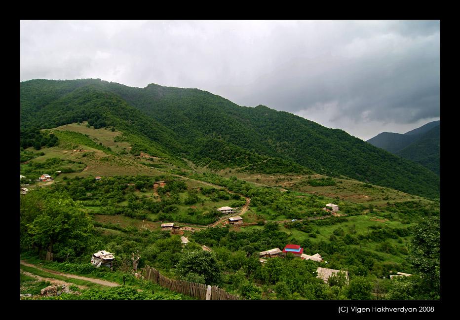 """photo """"Haghpat village"""" tags: landscape, travel, mountains"""