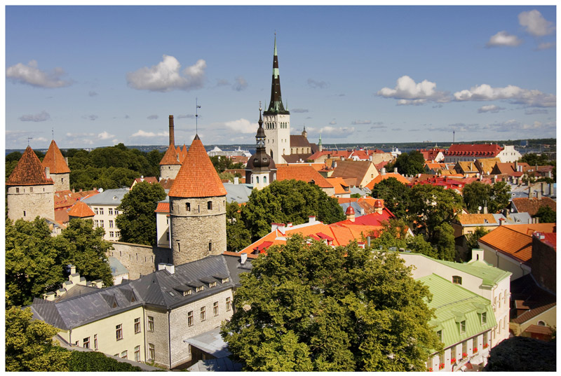 "photo ""Tallinn - The Old Down Town 1"" tags: city,"