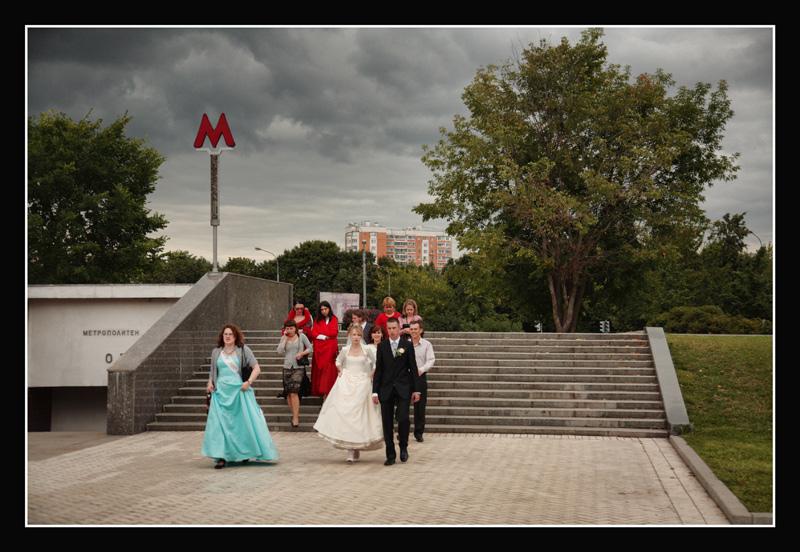 """фото """"В метро всегда хорошая погода"""" метки: портрет, пейзаж, лето"""
