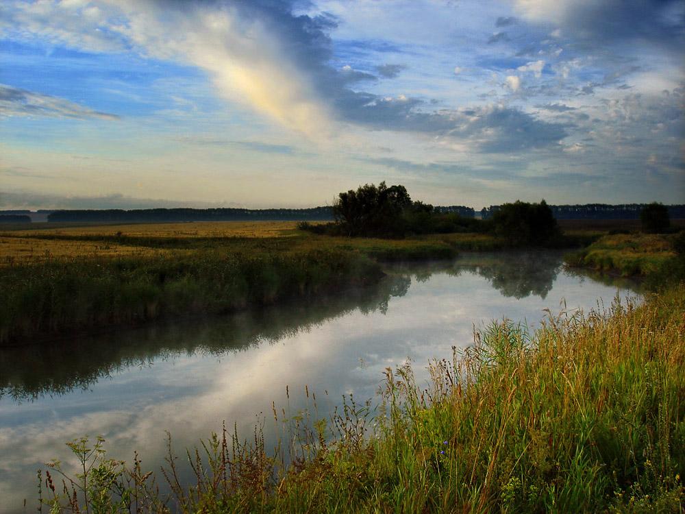 "photo ""August Dawn"" tags: landscape, summer"