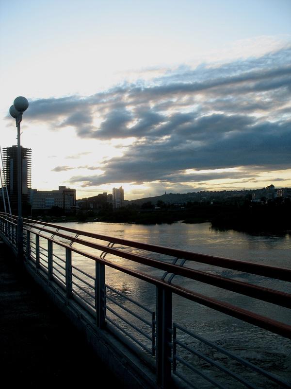 """фото """"Красноярские вечера"""" метки: пейзаж, архитектура, вода"""