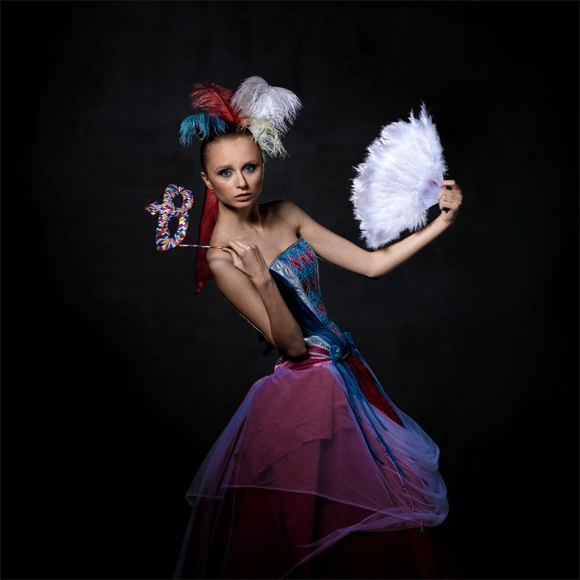 "фото ""Коломбина"" метки: жанр, портрет, женщина"
