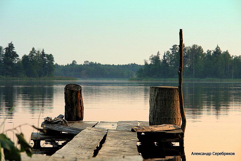 "фото ""Деревенские кладки..."" метки: пейзаж, вода"