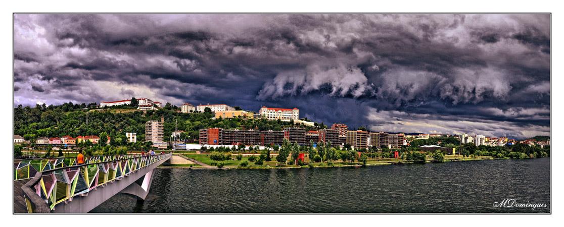 "фото ""storm over the city"" метки: пейзаж, панорама,"