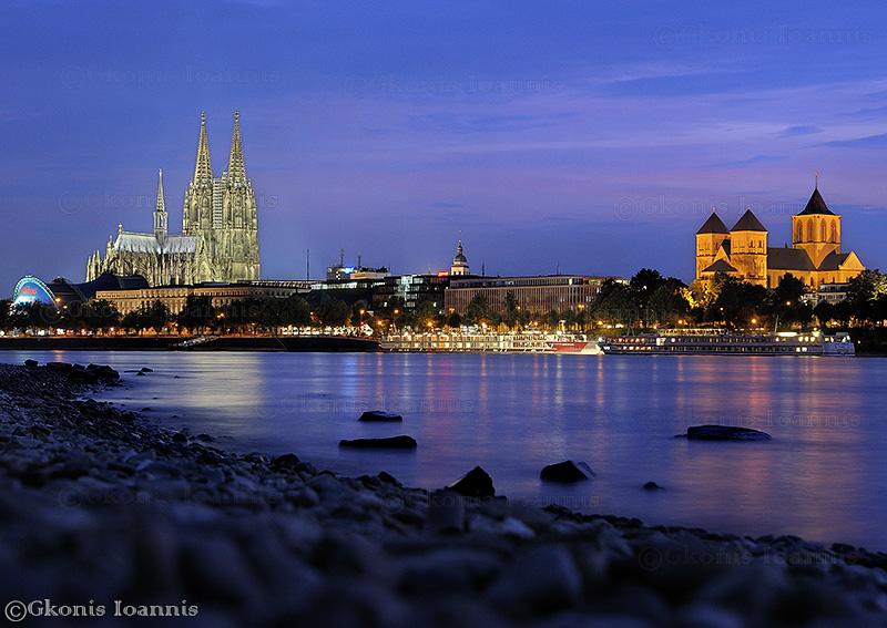 "photo ""Koeln im Rhein"" tags: travel, city, Europe"