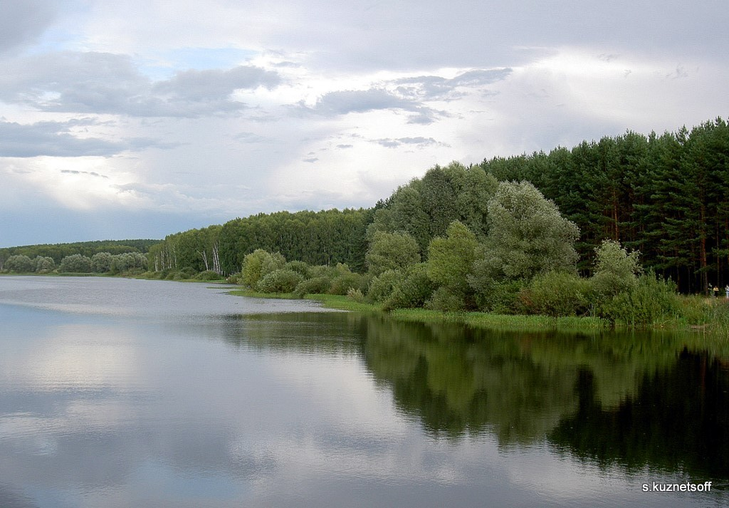 """фото """"Вот и лето прошло..."""" метки: пейзаж, лес, облака"""