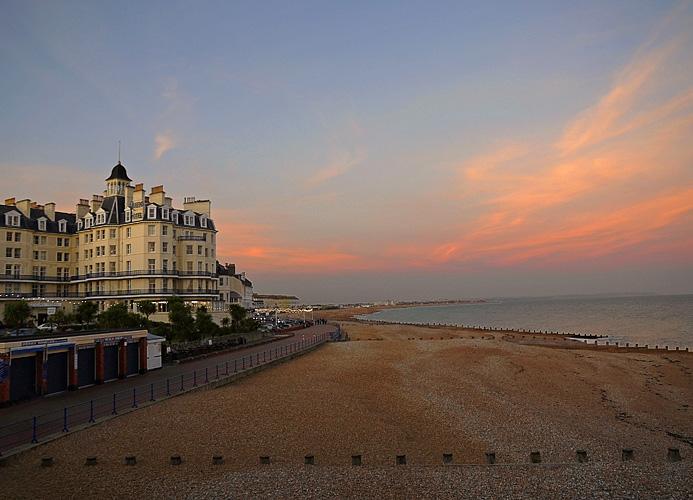 """фото """"На побережье воздух свеж"""" метки: пейзаж, закат"""