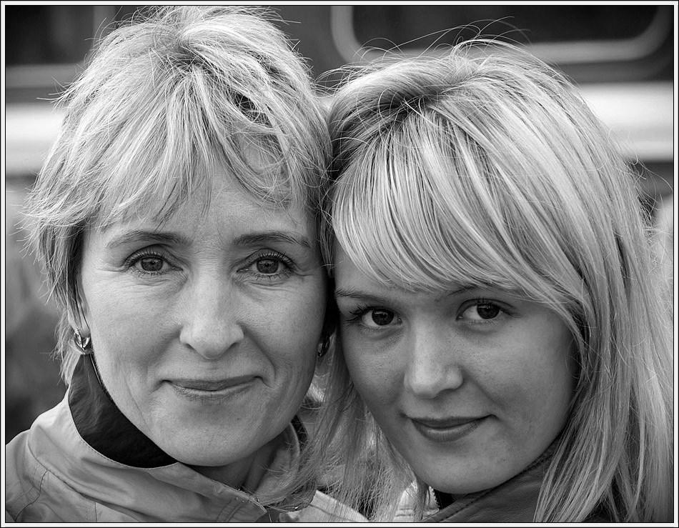 """фото """"Дочки-матери"""" метки: портрет, женщина"""