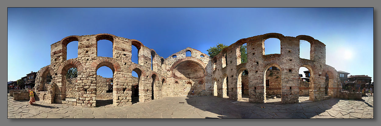 "photo ""Nesebar"" tags: architecture, montage, landscape,"