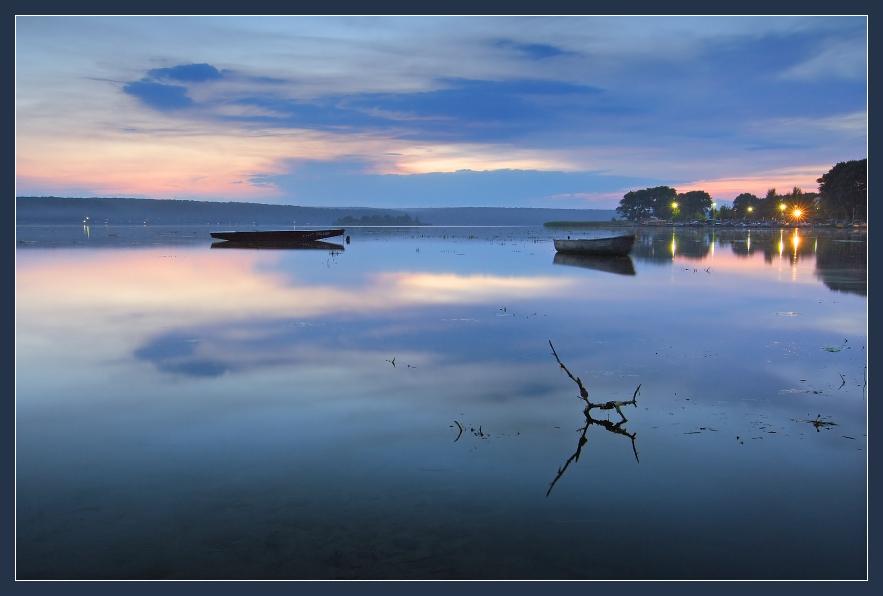 "фото ""вечер зажег огни"" метки: пейзаж, вода, лето"