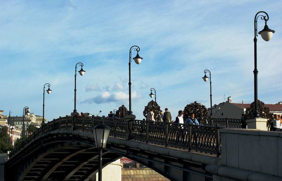 "фото ""MSK bridge of love"" метки: город,"